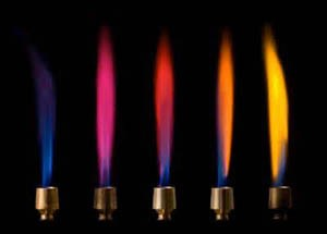 آزمون شعله